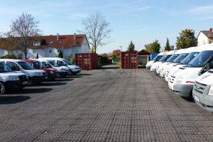Parkplatz Ostansicht