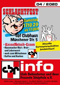 cbf Clubzeitung 4-2020
